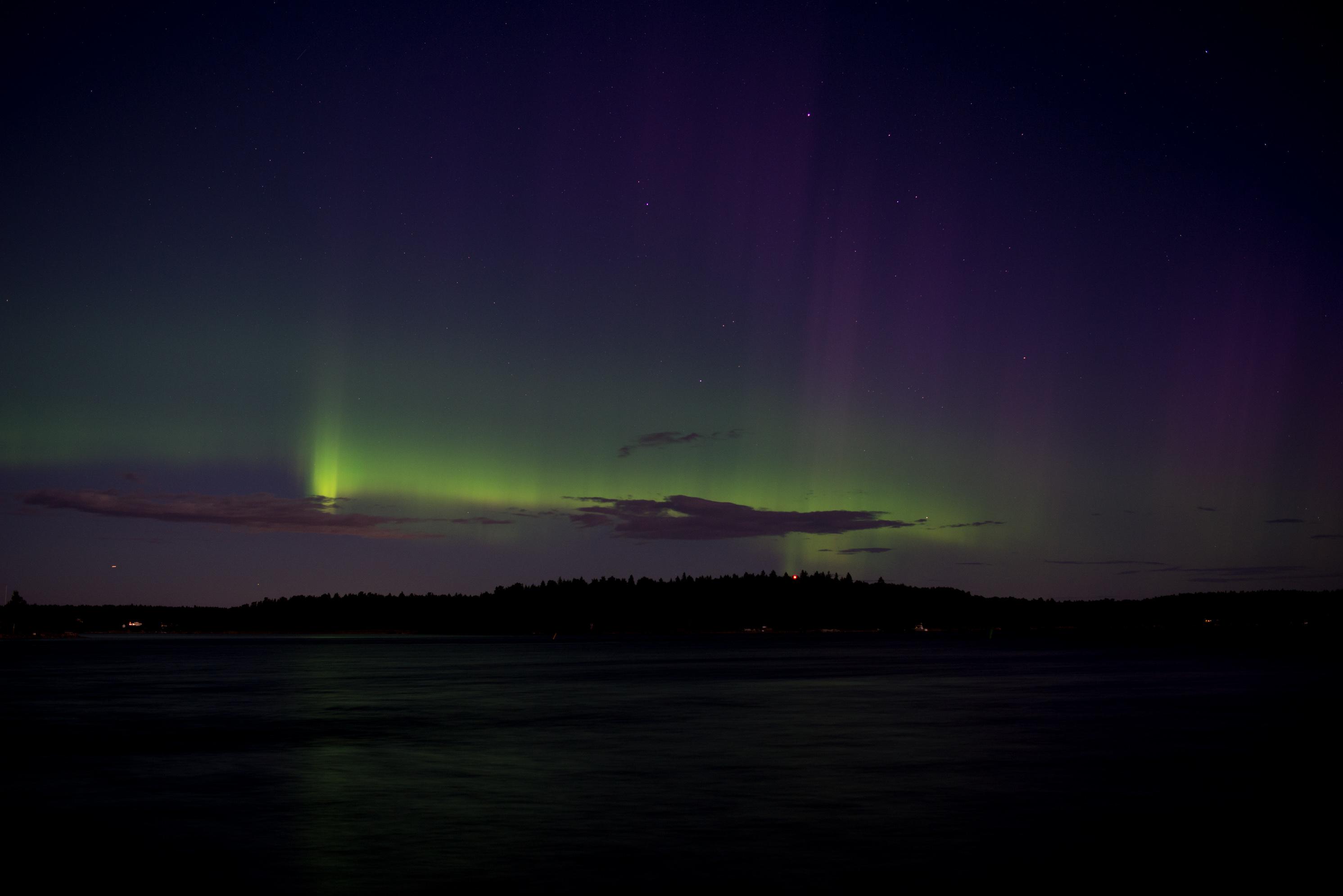 couche ou se forment les aurores
